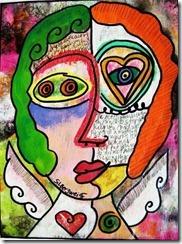 cubist-portrait-heart-angel-sandra-silberzweig