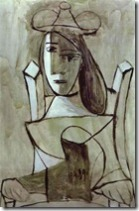 Picasso_Pablo-Young_Girl_Struck_by_Sadness