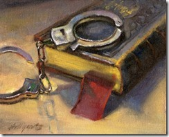 novel_with_handcuffs_8_x10_oil_on_canvas_325b37d82d39668c9be571f2be2080ac