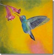 yellow-background-hummingbird