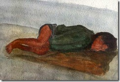 hungry_orphaned_street_child_sleeping_on_footpath_destitue_of_fate_cold_december_night_water_color_painting_ishrath