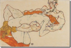 800px-Egon_Schiele_-_Liebespaar_-_1913