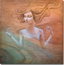 floating-hair-beautiful-woman-meditating-spiritual-awakening-rebirth-ohm-painting-643x656