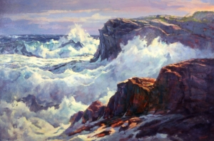 Guy Corriero - Rocks at Prouts Neck